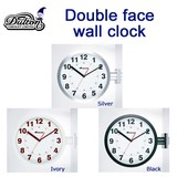 DOUBLE FACES WALL CLOCK