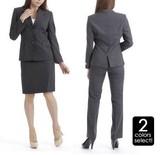 【3点セット】数量限定☆ウール100%スーツ【SS/AW】【オールシーズン】【SALE】【オフィス】