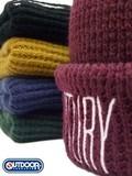 【値下げ!】【OUTDOOR】刺繍入りワッチ<5color・男女兼用・手洗い可>