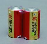 【消耗品 電池】大容量アルカリ乾電池単1形