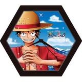 【ワンピース】[82-jc02]ジグソークロックミニ(ルフィ)
