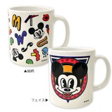 MICKY MOUSE Designed by STEREOTENNIS マグカップ