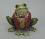 【5月21日から31日まで限定分引きセール!】【レジン製フロッグ カエル】