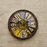 Antique Emboss Clock