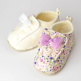 Baby Ribbon Open Shoes