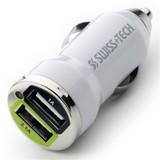【スイステック 】 シガーソケット 12V USBアダプター 2口