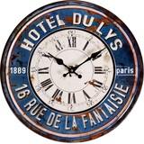 ヨーロピアンオールドメタルクロック HOTEL DU LYS