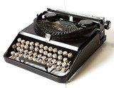 【置物】アンティークブリキコレクション{Vintage Typewriter}