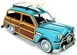 【置物】アンティークブリキコレクション Woody Wagon LB