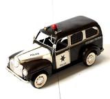 【置物】アンティークブリキコレクション{1947 Sheliff Wagon}