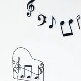 【音符/MUSIC(音楽)】ガーランド(ミュージック・オーケストラ)
