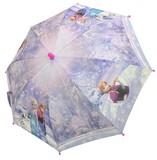 ☆アナと雪の女王・転写プリント子供傘☆45cm・50cm☆パープル☆