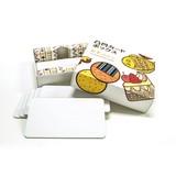 NHKで紹介されました【紙を重ねて何度でも!「こすり出しあそび」】凸凹カードボックス かず(おやつ)