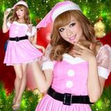 0905お姫サンタコスチューム3点セットクリスマス