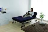 【新生活オススメ】【布団 マットレス 健康】エアリーエアリーマットレス付きリクライニングベッド