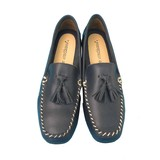 Spring Items Tassel Attached Genuine Leather Shoes