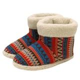 【Knit slippers】ジグザグブーツ