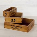 【木製品】入れ子式のちいさな小箱