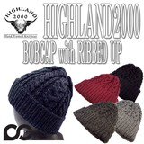 HIGHLAND2000 BOBCAP with RIBBED UP 14976
