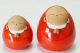【有田焼】陽炎 手造り地蔵 丸型 座り (小/大)