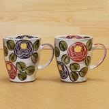 Arita Ware Rose Garden Mug
