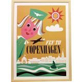 【OMM design】ポスター Sweden OMM Gallery Fly to Copenhagen