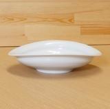 【有田焼】白磁 たわみ鉢