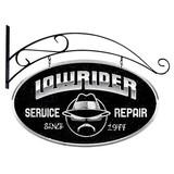 【スティールサイン】【カー&ガレージ】Lowrider Service<看板> ★アメリカ製★