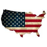 【スティールサイン】【etc.】USA United States Flag<看板> ★アメリカ製★