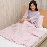 (日本製)ル・ミディ 無撚糸使用のさらふわハーフケット