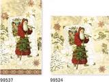 パンチスタジオ クリスマス ペーパーナプキンL/M  <サンタクロース> 容量2倍