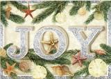 PUNCH STUDIO    クリスマスカード 3Dレイヤー <JOY>