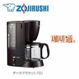 コーヒーメーカー<スタンダードタイプ.1〜6杯分.ダークブラウン・キッチン>