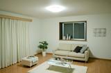 【新生活オススメ】【屋内照明 節電】LEDシーリングライト フレーム付 調光