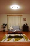 【新生活オススメ】【LED照明 節電】LEDシーリングライト 木枠 調色 8畳用