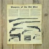 デニックス ポスター 旧西部の武器