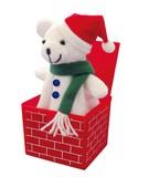 サプライズボックス ホワイトベア (クリスマス)