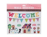ウォールステッカー (SS) ウェルカム  (インテリアシール/壁紙/模様替え)☆Wall Sticker☆