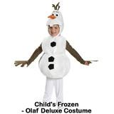 Child's Frozen Olaf Deluxe Costume 子供用 オラフ「アナと雪の女王」コスチューム ハロウィン
