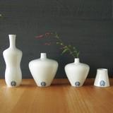 sakevase【北欧の名器のかたちを写した白い波佐見焼】[磁器/花器/酒器]
