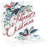 UP WITH PAPER トリンケットカード 立体仕様 クリスマス <オーナメント>