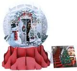 UP WITH PAPER スノーグローブカードS/L 立体仕様 クリスマス <スノーマン>