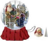 UP WITH PAPER スノーグローブカードL 立体仕様 クリスマス <サンタ>