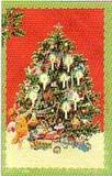 ROGER LA BORDE クリスマス スモールカード <天使×ツリー>