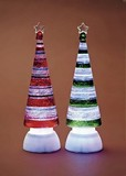 【創業祭セール!】【クリスマス】【アクリル製ツリーライト】