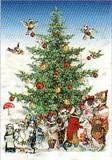 ROGER LA BORDE クリスマスカード<猫×ツリー>