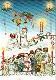 ROGER LA BORDE クリスマスカード<犬>