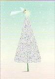 ROGER LA BORDE クリスマスカード<天使×ツリー>