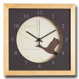 小さめサイズが可愛い北欧テイストのインテリアクロック(時計)VerdureClock/Swan/NA