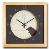 小さめサイズが可愛い北欧テイストのインテリアクロック(時計)VerdureClock/Hedgehog/NA